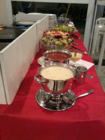 Buffet Crepe Savorines